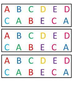 Letter Recognition Freebie!