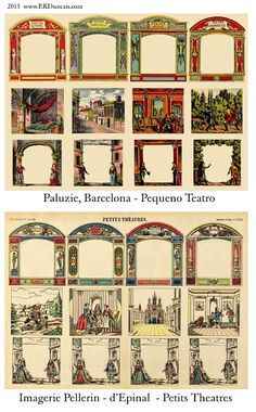 EKDuncan - Mi imaginario de Muse: Teatro Libro Español Imágenes Parte 1 - Paluzie, Barcelona