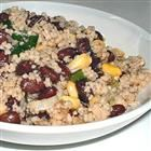 black bean and cous cous salad