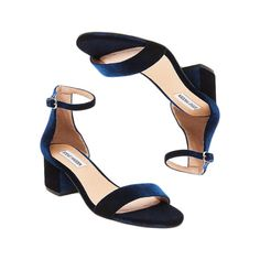 - Steve MaddenIrene Velvet Sandals, $80