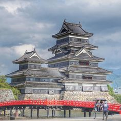 Crow Castle / Matsumoto / Nagano / 1 of 12 original castles remaining in Japan by japan_gram