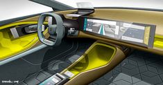 """gashetka: """" 2016   Citroen CXperience Concept   Interior Design by Raphaël Le Masson Pannetrat and Jérémy Lebonnois   Source: CDN """""""