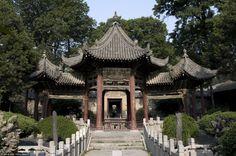Cina, Shaanxi, Xi'an, quartiere mussulmano, Grande Moschea  Fonte: Fotopedia