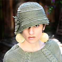 Modest Cloche Kit - Classic Crochet Cloches - DK Cotton Tape
