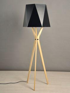 Design Moderne, Tripod Lamp, Lighting, Home Decor, Art, Pantry Design, Modern Lamps, Pedestal Tables, Minimalist Style
