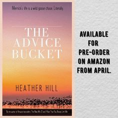 My new comedy/fantasy novel, The Advice Bucket, will be available for pre-order on Amazon soon #books #newreleases