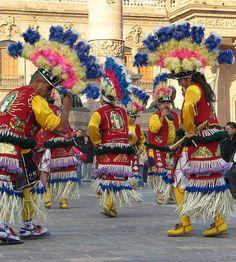 Historical Dancers in Monterrey