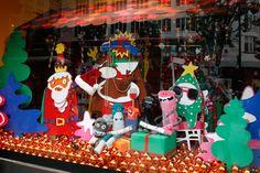 A very colourful Selfridges Christmas