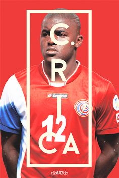 FIFA World Cup 2014 by Ricardo Mondragon, via Behance #CRC @joel_campbell12