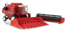 Farm Toys - ERTL - 14831 - Case IH 1460 Combine This 1/64 scale die cast