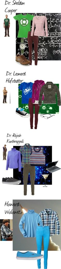 """""""The Big Ban Theory Guys"""" by nchavez113 on Polyvore"""