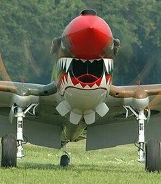 Vicious P-40 nose art Ww2 Aircraft, Fighter Aircraft, Military Jets, Military Aircraft, Fighter Pilot, Fighter Jets, Airplane Art, Ww2 Planes, Nose Art