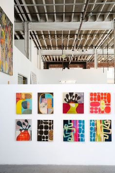 Rex Ray at Gallery 16 in San Francisco // via Spotted SF