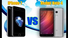 iPhone 7 vs Xiaomi Redmi Note 4 Comparison: Specs, Features And CAMERA