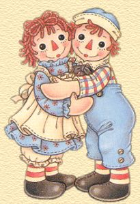 Raggedy Ann and Andy---such classic childhood dolls. Ann Doll, Raggedy Ann And Andy, Holly Hobbie, Vintage Valentines, Digital Stamps, Illustrations, Paper Dolls, Cute Art, Childhood Memories