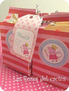 Las flores del cactus : Anniversaire Peppa Pig / Cumpleaños Peppa Pig