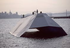 The £115million US navy stealth vessel that could be yours for just £60,000