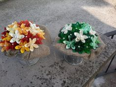 Origami Flower Bouquet, Craft Projects, Projects To Try, Rockabilly Wedding, Crepe Paper, Special Day, Paper Flowers, Paper Art, Burlap
