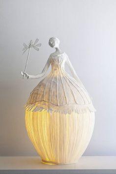 Sculptures lumineuses / Bright sculptures.