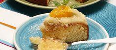 Receita de Bolo de laranja com coco. Descubra como cozinhar Bolo de laranja com coco de maneira prática e deliciosa com a Teleculinaria!