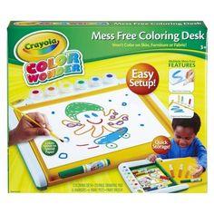 Crayola Color Wonder Mess Free Coloring Desk