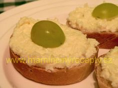 Czech Recipes, Grains, Muffin, Breakfast, Spreads, Food, Morning Coffee, Muffins, Meals