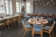 Lunch in the fabulous River Room