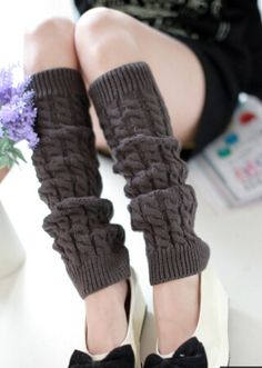 Twist Knee High Loose Socks $5.99