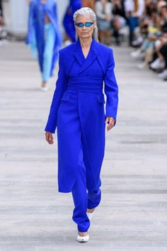 GmbH Spring 2020 Ready-to-Wear Fashion Show - Daily Fashion Summer Fashion Outfits, Blue Fashion, Fashion Week, Daily Fashion, Spring Summer Fashion, 2020 Fashion Trends, Fashion 2020, Runway Fashion, Mens Fashion