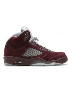 d8d258eabf4e Air Jordan 5 Retro Ls Deep Burgundy Light Graphite Silver 314259 602