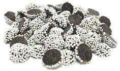 Mini Dark Chocolate Nonpareils (White)
