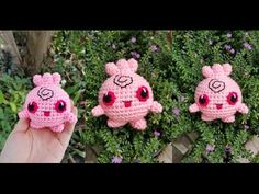 Igglypuff Pokemon Crochet Tutorial by AmigurumiPianosound Thank you so much for watching If you crochet one of my doll please show me, I would love to see it...