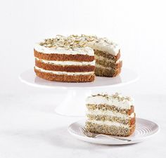 Creamy and tangy, this delicious cake will have everyone coming back for a second, zesty piece.