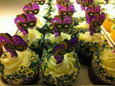 mardi gras cupcake cups | Mardi Gras decorated Cupcakes | Yelp