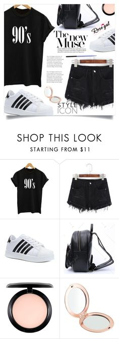 """""""Rosegal 56."""" by lillili25 ❤ liked on Polyvore featuring MAC Cosmetics, J.Crew and Handle"""