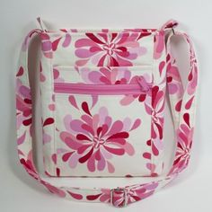 Two Zip Hipster bag in pink