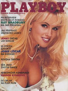 Playboy (Czech Republic) October 1996  with Jenny McCarthy on the cover