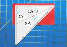 Paper piecing - Summer Sampler Series : Star – Fresh Lemons Modern Quilts