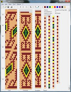 Free Crochet Bead Pattern Round 11