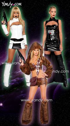 Sexy Star Wars Costumes...yes please