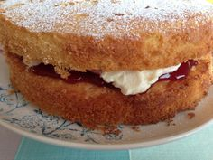 The classic Victoria sponge is a recipe that should be in everyone's recipe book as far as I'm concerned - easy to make and so delicious!