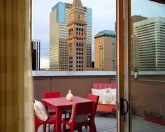 Clocktower View Downtown Hotels Denver With Balconies Travel Usa Relax
