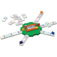 Fundex 5454 Mexican Train Domino Game
