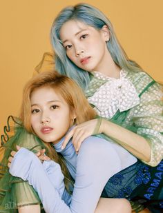 Pretty girls Sana and Dahyun for allure magazine Kpop Girl Groups, Kpop Girls, Sana Minatozaki, Group Poses, Twice Dahyun, Twice Kpop, Twice Sana, One In A Million, Nayeon