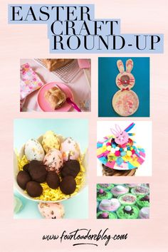Easter Craft and baking round up Easter Activities, Activities For Kids, Bunny Bags, Hot Cross Buns, Easter Crafts, Easter Eggs, Caramel, Coconut, Homemade
