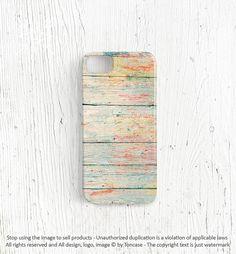 Wood iPhone 5 case - unique iPhone 4 case, wood iPhone 4s case, iphone 4 cover, painted wood, mint iphone 5 cover unique case wedding (c55) on Etsy, $22.99