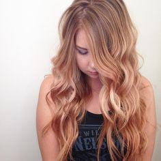 Rose Gold Hair Color - Aveda - Tangerine Salon