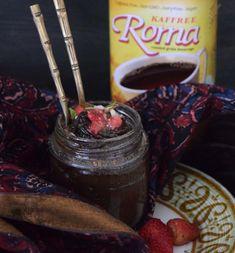 Kaffree Roma Vegan Chocolate Pots recipe - delicious vegan dessert using Kaffree Roma