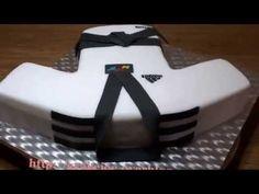 Karate Cake - YouTube