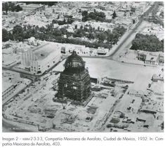 Using Aerial Photography to Study Mexico City: The El Caballito Old Pictures, Old Photos, Vintage Photos, México City, Built Environment, Color Of Life, Aerial Photography, Aerial View, Cancun